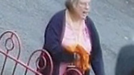 Police appealing for anyone who knows this woman to contact them captured on CCTV PICTURE: Cambridgeshire Police