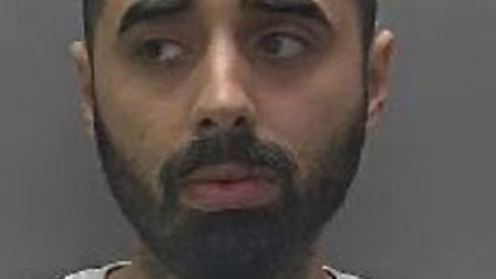 Umar Baig has been jailed for a series of drugs offences in St Albans. Picture: Herts police