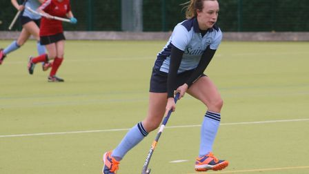 Kira Herbert in action for St Neots against City of Peterborough. Picture: TIM BETTSWORTH