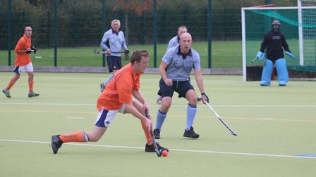 Will Knights in action for St Neots against Nomads. Picture: TIM BETTSWORTH