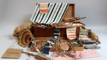 Thomas Clarkson's campaign chest. Picture: Sarah Cousins/Wisbech and Fenland Museum