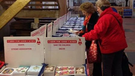 St Albans Cards for Good Causes has moved to a new venue after 33 years at the Cathedral.