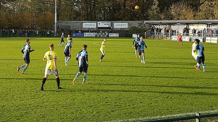 St Neots Town hosted Worksop Town in an FA Trophy third qualifying round tie.