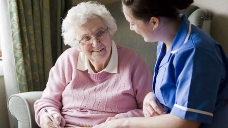 'All of our clients have their own hobbies and interests.' Picture: Bluebird Care
