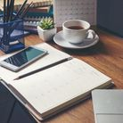 An organised working space can help you relax and focus. Picture: Getty Images
