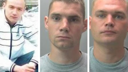 Mindaugas Arlauskas (left) was killed and his body set alight. Tomas Lazdauskas (centre) admitted manslaughter. Donatas...