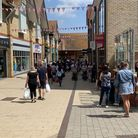 Queues snaked around Huntingdon High Street when shops reopened in summer. PICTURE: Archant