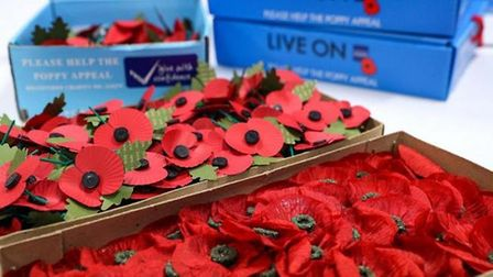 People are being asked to remember those who have fallen at home this year. Picture: PA IMAGES