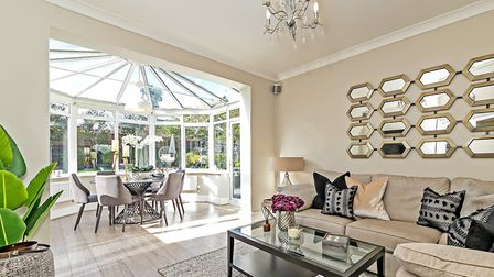 This Ellis Fields house received a thorough decluttering before the home staging process commenced. Picture: Cassidy & Tate