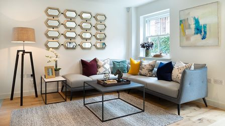 The Oak Tree Gardens property after One Home Interiors had worked their staging magic. Picture: One Home Interiors