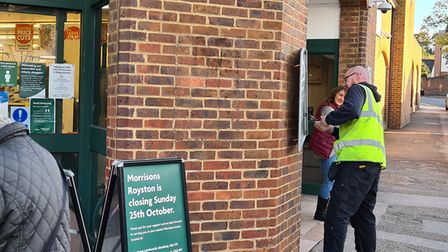 Royston Morrisons closed for good in Baldock Street on Sunday, despite the campaign to keep it open. Picture: David Hatton