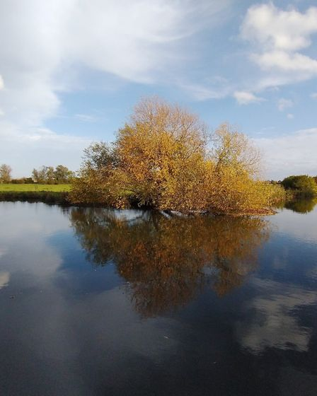 Mark Brandon took this image at the River Ouse at Buckden.