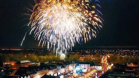 There will be Christmas lights in all the market towns in Huntingdonshire, but switching-on events will not take place