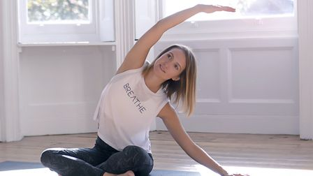 Grace Lillywhite of Centred Mums, specialises in pilates and wellbeing in St Albans. Picture: Nicola Hayes