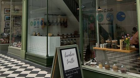 Bamboo Turtle aims to reduce plastic use and food waste in Letchworth. Picture: Shani Crofton