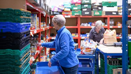 Letchworth Heritage Foundation has awarded a grant to the Letchworth Foodbank, following an increase in demand. Picture...