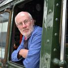 Driver Terry Hartga. Picture: Audley End Miniature Railway
