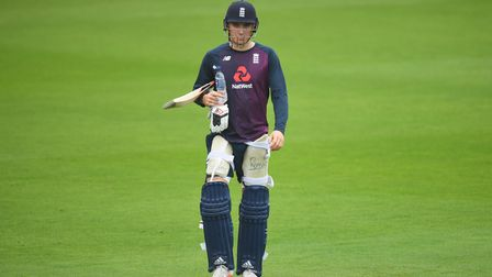 Tom Banton during an England net session at The Ageas Bowl, Southampton. Picture date: Thursday Sept