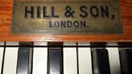 The Hill & Son organ at All Saints Church in Hartford is due to be restored.