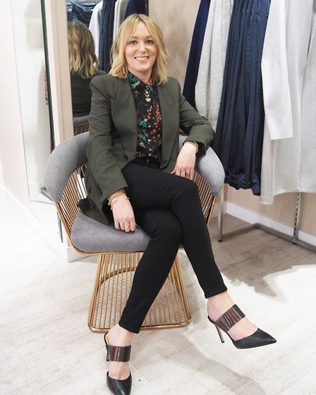Owner of The Dressing Room Deryane Tadd speaks about Coronavirus and her St Albans business. Picture: Supplied