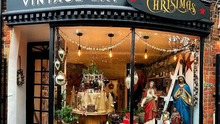 Vintage Bay at Christmas in Churchyard, Hitchin has just opened. Picture: Supplied