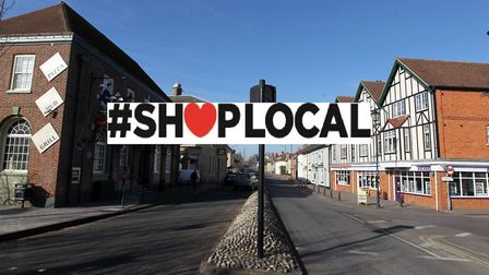 The Royston Crow is running a campaign encouraging people to Shop Local this Christmas. Picture: Harry Hubbard