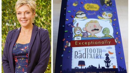 Carrie Norman (left), principal at Peckover Primary School in Wisbech, has co-authored her latest book 'The Exceptionally...