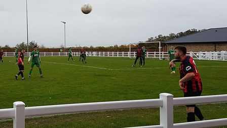 Huntingdon Town hosted Burton Park Wanderers for a United Counties League Division One match.