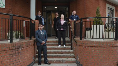 Holiday Inn Express manager Sophie Ellis and her team have been recognised with the Covid Lockdown Hero Stevenage Pride...