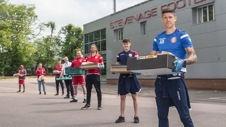 Stevenage FC has been recognised with the Best Company Stevenage Pride Award for its community outreach during locakdown.