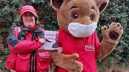 You can get advice about staying safe while out shopping in St Neots and Huntingdon this week.