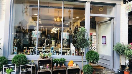 Flowerbox in George St, St Albans. Picture: Laura Bill