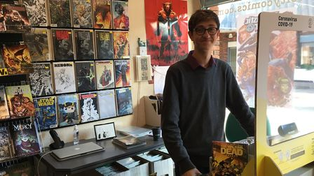 Chaos City Comics in St Albans.