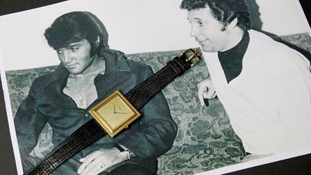 A watch worn by Elvis is being auctioned online by Sworders of Stansted. Picture: JAT PUBLISHING / JOSEPH TUNZI
