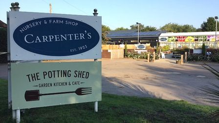 Judy Newton-Davies said: Staff at Carpenters garden centre and Potting Shed Café in Sandridge are always helpful...
