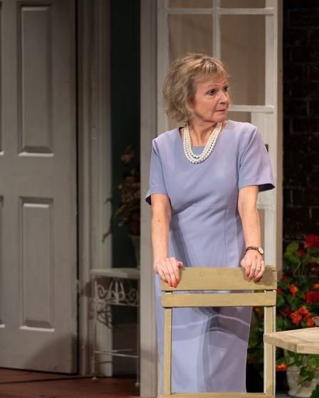 The dress rehearsal for Relatively Speaking at the Abbey Theatre in St Albans. The Alan Ayckbourn comedy opens on Friday...