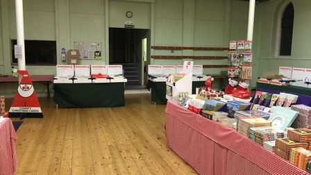 The St Albans Cards for Good Causes shop at Dagnall Street Baptist Church.