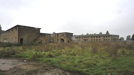 Police disperse group illegally filming music video at former RAF Upwood site. Picture: ARCHANT