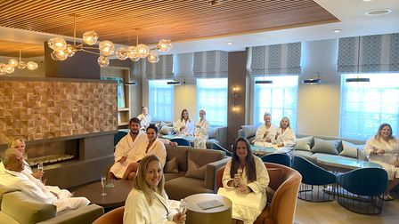NHS staff were treated to a socially-distant spa day at Cottonmill Spa, Sopwell House last week. Picture: Sopwell House