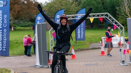 Pedal for Pounds was Garden House Hospice Care's first non-virtual event since lockdown. Picture: Martin Wootton