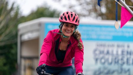 Pedal for Pounds was Garden House Hospice Care's first non-virtual event since lockdown Picture: Martin Wootton