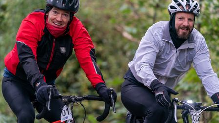 Hundreds took on either a 30 or 50-mile cycle on Sunday in aid of Garden House Hospice Care. Picture: Martin Wootton