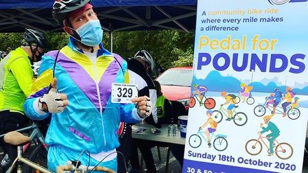 Hundreds took on either a 30 or 50-mile cycle on Sunday in aid of Garden House Hospice Care. Picture: Beth Power