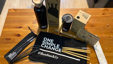 The products were neatly packed into a box, with all the packaging compostable. Picture: Archant