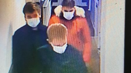 Police appeal to speak to three men in connection with an assault in Ramsey. PICTURE: Cambridgeshire Police