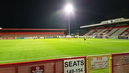 Stevenage hosted Newport County in a League Two match at the Lamex Stadium.