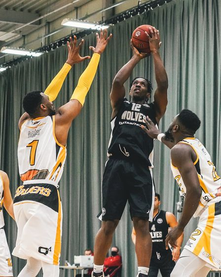 Oaklands College hosted the first National Basketball League games in England following the COVID-19 lockdown. Picture...