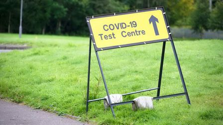 Covid-19 infections are falling significantly in parts of Stevenage, but doubling in others. Picture: GettyImages /...