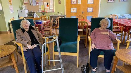 The Age UK day centre in Ambury Road, in Huntingdon, has reopened after lockdown.