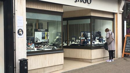 Jago Jewellers in St Albans.